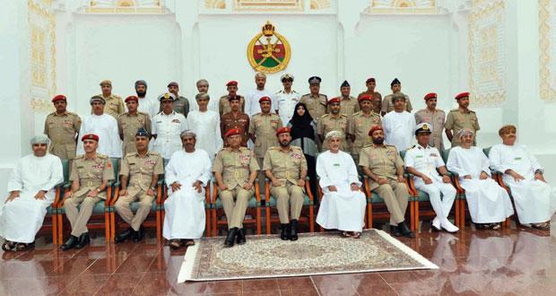 افتتاح الدورة الثالثة بكلية الدفاع الوطني
