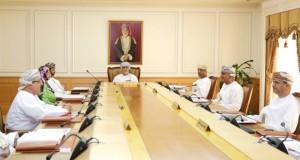 اللجنة العليا لمشروع جامعة عُمان تعقد اجتماعها الخامس للعام 2015