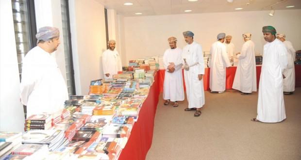 افتتاح المعرض التاسع للكتب المستعملة بجامعة السلطان قابوس