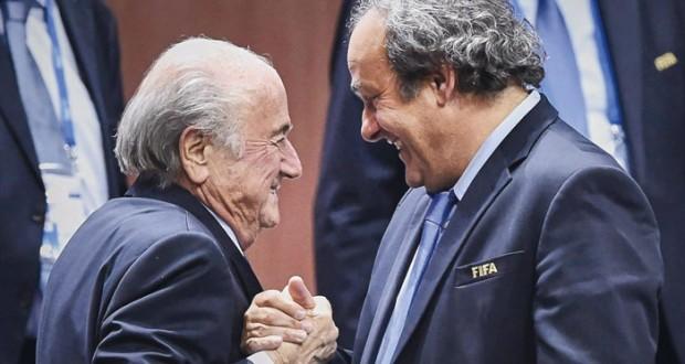 بعد إيقاف بلاتر وبلاتيني صدمة كبيرة تضرب أوساط كرة القدم العالمية