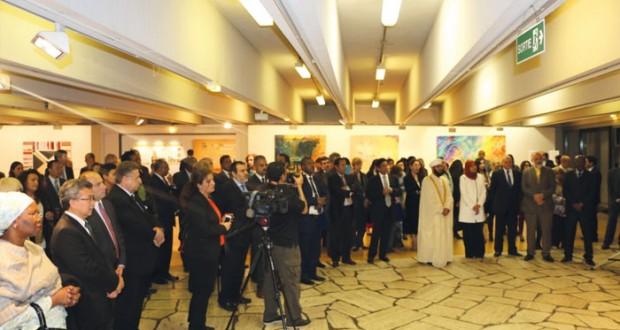 في 48 لوحة تلخص مضمونه.. (رسالة الإسلام) في عمان تصل اليونسكو