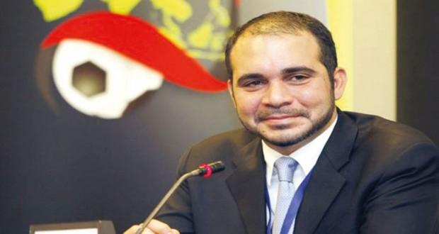في انتخابات الفيفا: علي بن الحسين يتقدم بترشيحه رسميا