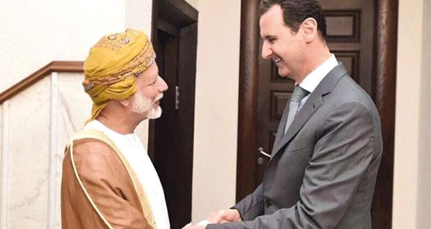السلطنة تؤكد على أهمية وحدة واستقرار سوريا بما يخدم أمن المنطقة