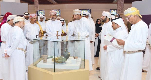 300 قطعة أثرية تحكي خمس فترات تاريخية مهمة في افتتاح المعرض المشترك الخامس لآثار دول مجلس التعاون