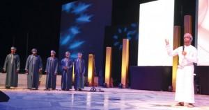 """""""نزوى الحضارة"""" تشهد انطلاق أولى ليالي مهرجان الإنشاد العماني الأول"""