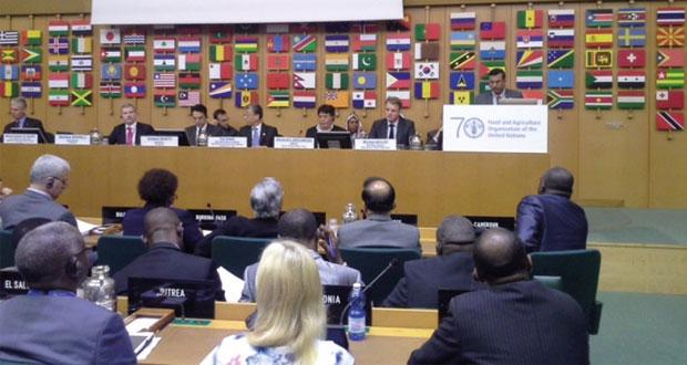 السلطنة تشارك في الدورة الـ 6 للجهاز الرئاسي للمعاهدة الدولية للموارد الوراثية النباتية في اﻷغذية والزراعة في روما
