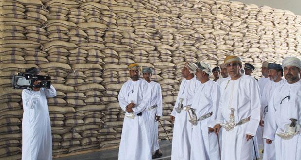 افتتاح مبنى إدارة الهيئة العامة للمخازن والاحتياط الغذائي بجنوب الشرقية