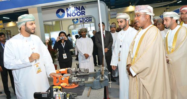 """انطلاق فعاليات معرض عمان للبنية الأساسية """"انفرا عمان"""" في نسحته الخامسة"""