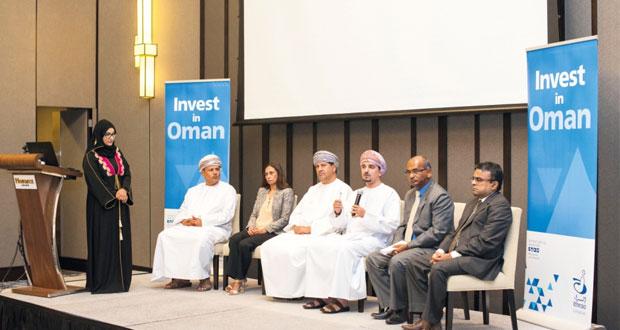 لقاء استثماري عماني هندي يستعرض الفرص الاستثمارية والخطط المستقبلية بالسلطنة