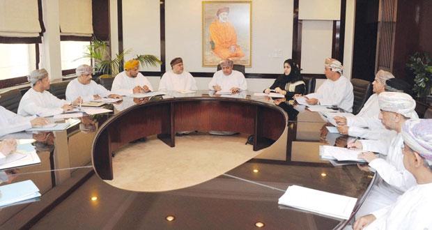 اجتماع اللجنة الإعلامية لانتخابات الشورى للفترة الثامنة