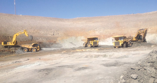 142.2 مليون ريال عماني إنتاج السلطنة من المعادن في 2014