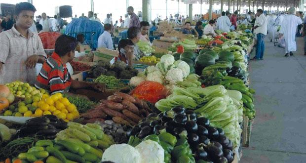 سوق الموالح يسجل تراجعات في أسعار الخضراوات والفواكه