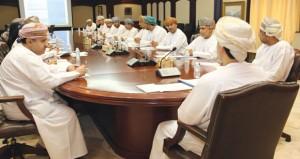 """اللجنة التوجيهية تجتمع بالجهات الحكومية المعنية بتنفيذ قرارات """"الشامخات"""""""