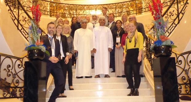 مركز عمان للمؤتمرات والمعارض ينهي جولته الأوروبية الثالثة