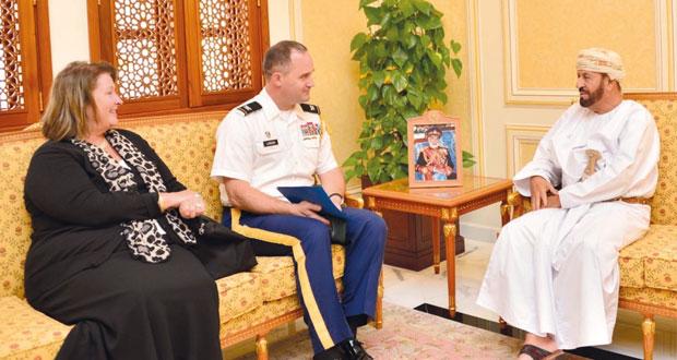 بدر بن سعود يستقبل السفيرة الأميركية