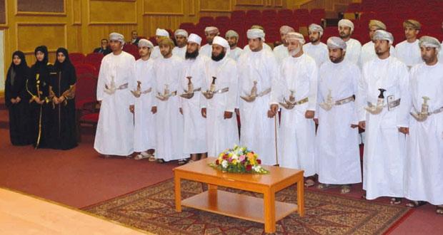 وزير العدل يرعى حفل أداء قسم اليمين للدارسين بالمعهد العالي للقضاء