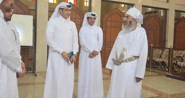وفد النيابة العامة القطري يزور المحكمة العليا وكلية الدفاع الوطني