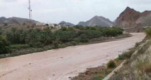 الرستاق تسجل أعلى كمية لهطول الأمطار بلغت ( 86 ملم )