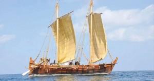 """اليوم.. أمين عام وزارة التراث والثقافة يرعى الاحتفال بالذكرى الخامسة لإبحار السفينة الشراعية """" جوهرة مسقط """" إلى سنغافورة"""