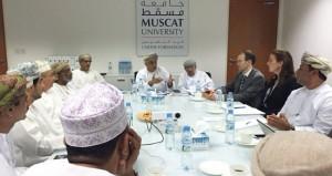 سبتمبر2016 م .. جامعة مسقط تستقبل الدفعة الأولى من طلابها