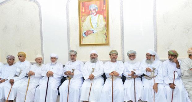 المدعي العام يرعى افتتاح مجلس جامع الرشيد بحلة النصر في السيب