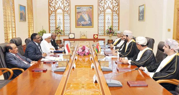 جلسة مباحثات بين السلطنة والسودان في مجالات الخدمة المدنية والتطوير الاداري وتنمية الموارد البشرية