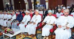 ـ مستشار جلالة السلطان قابوس للشؤون الثقافية يفتتح فعاليات الملتقى السنوي الثاني للباحثين