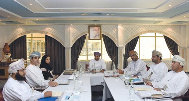 لجنة متابعة الاستراتيجية الشاملة للتنمية الاقتصادية بمسندم تحدد المشروعات المنتظرة وكيفية تنفيذها