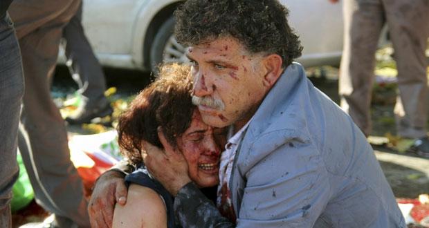 تركيا: مئات القتلى والجرحى بهجوم على تظاهرة من أجل السلام