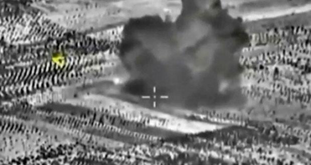 روسيا تكثف غاراتها في سوريا وتعلن تدمير مركز قيادة لداعش