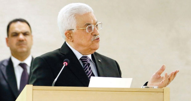 عباس يجدد مطالبته بحماية دولية للفلسطينيين