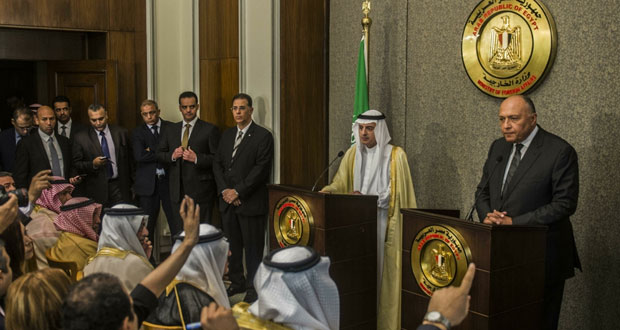 مصر والسعودية تؤكدان تطابق وجهات نظرهما حيال كافة القضايا