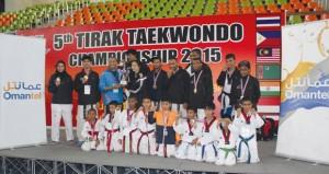 عمانتل ترعى فريق أكاديمية المحترفين في بطولة تيراك الدولية للتايكواندو