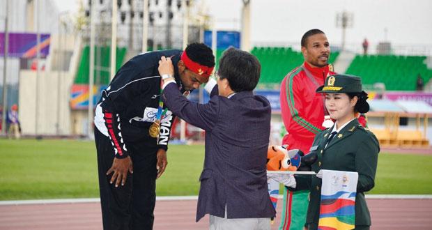 تألق البعثة العسكرية لقوات السلطان المسلحة في دورة الألعاب العسكرية بكوريا الجنوبية