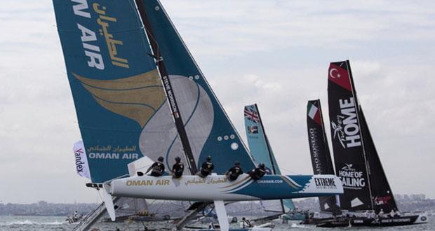 في منافسات مرحلة اسطنبول لسلسلة الإكستريم الشراعية.. الموج مسقط في المركز الأول والطيران العماني ثالثا بعد يومين من السباقات