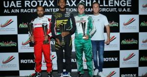 في بطولة الإمارات للكارتينج..الرواحي يتوج بمنافسات الجولة الأولى والوهيبي ثانيا