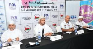 رالي عمان الدولى سيقام في مسارات مختارة بعناية وبمشاركة نخبة من الأبطال