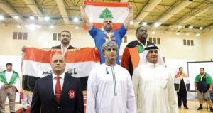 ختام ناجح للبطولة الآسيوية للقوة البدنية (رفعة الصدر)