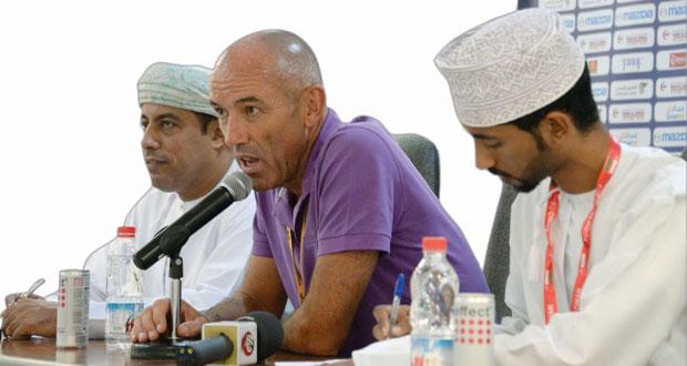 في المؤتمر الصحفي لمباراة منتخبنا مع الهند بول لوجوين: كان أسبوعا حافلا لمنتخب عمان ونجحنا في تحقيق المطلوب