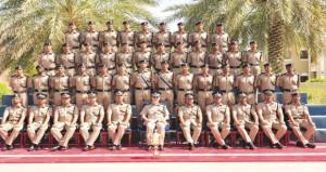 فوز أكاديمية السلطان قابوس لعلوم الشرطة بمسابقة شرطة عمان السلطانية الرابعة للمشاة