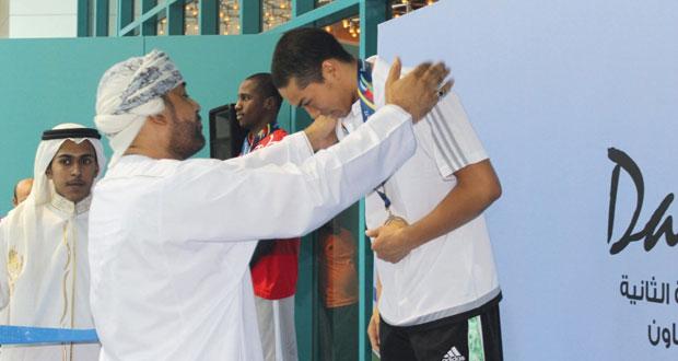 في دورة الألعاب الخليجية الثانية بالدمام..السلطنة تحصد 22 ميدالية ملونة
