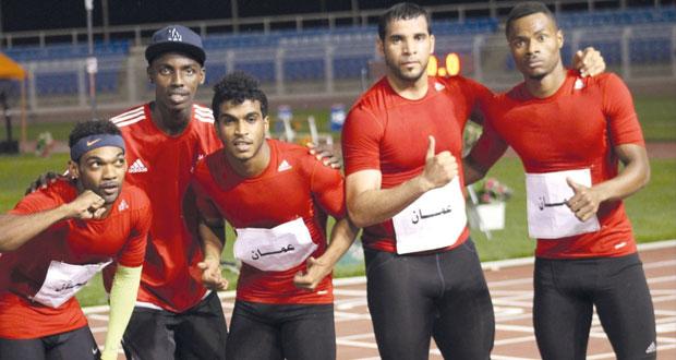 منتخب التتابع 4×100 متر يتوج بالفضية وآمال كبيرة في حصد مزيد من الميداليات في ام الألعاب