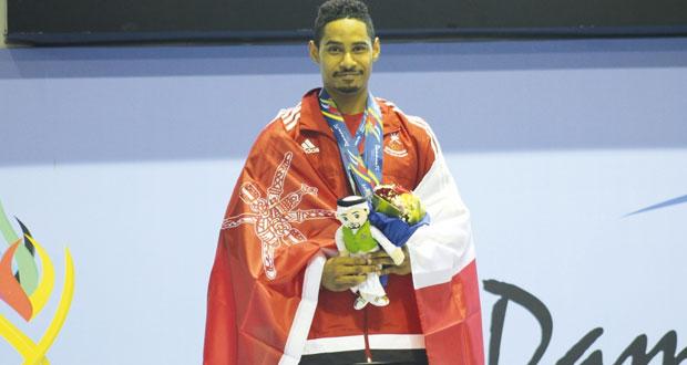في دورة الألعاب الخليجية الثانية بالدمام..مهنا العبدلي يحصد ثلاث ميداليات فضية في مسابقة رفع الأثقال