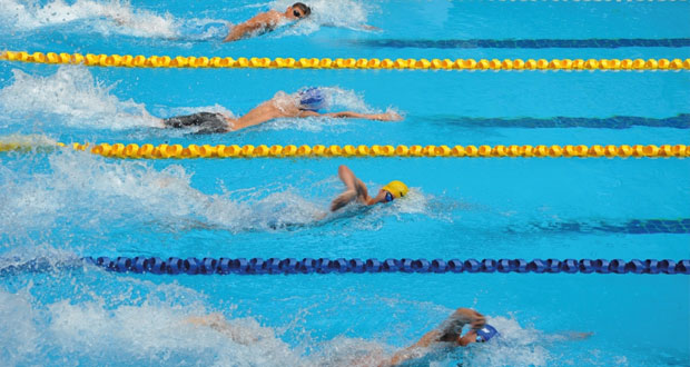 افتتاح منافسات البطولة الآسيوية الثامنة للألعاب المائية للفئات العمرية ببانكوك