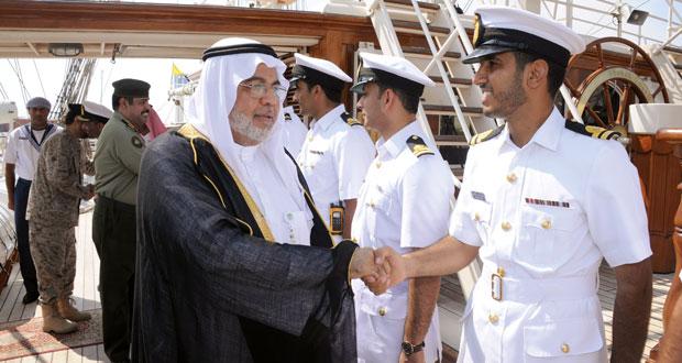 وصول (شباب عمان) إلى ميناء الملك عبد العزيز بالدمام