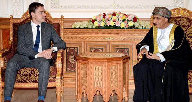 فهد بن محمود يستقبل رئيس الوزراء الإستوني