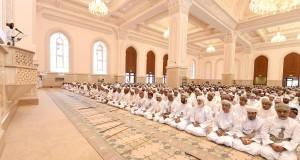 افتتاح جامع السلطان قابوس ببدبد