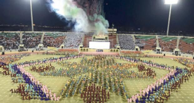 جلالة السلطان يتلقى التهاني بمناسبة العيد الوطني الخامس والأربعين المجيد