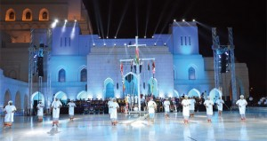 عروض فنية مبهرة بحفل استعراض الموسيقى العسكرية بـ (الأوبرا)