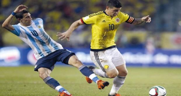 الصحافة الأرجنتينية تتغنى بانتصار منتخب بلادها على كولومبيا
